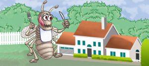 القضاء علي الحشرات بالمنزل